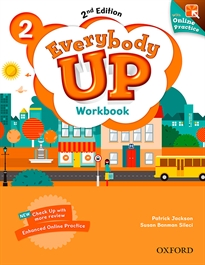 Portada del libro Everybody Up! 2nd Edition 2. Workbook with Online Practice