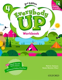 Portada del libro Everybody Up! 2nd Edition 4. Workbook with Online Practice
