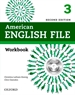 Portada del libro American English File 2nd Edition 3. Workbook without Answer Key Pack