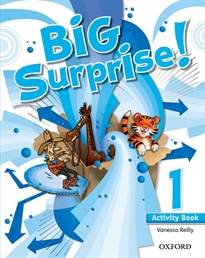 Portada del libro Big Surprise! 1. Activity Book