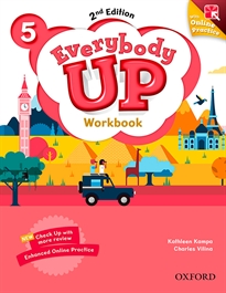 Portada del libro Everybody Up! 2nd Edition 5. Workbook with Online Practice