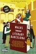 Portada del libro Walks through literary Barcelona