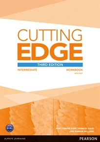Books Frontpage Cutting Edge 3rd Edition Intermediate Workbook with Key