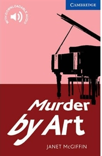Books Frontpage Murder by Art Level 5 Upper Intermediate