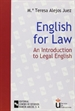 Portada del libro English for law