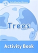 Portada del libro Oxford Read and Discover 1. Trees Activity Book