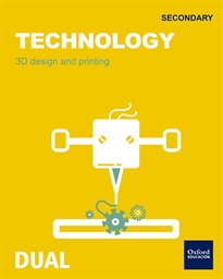 Portada del libro Inicia Technology 1.º ESO. 3D Desing and Printing