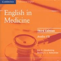 Books Frontpage English in Medicine Audio CD 3rd Edition
