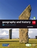 Portada del libro Geography and history. 1 Secondary. Savia