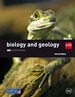 Portada del libro Biology and geology. 1 Secondary. Savia