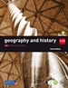 Portada del libro Geography and history. 2 Secondary. Savia