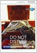 Portada del libro Do Not Disturb: The Importance of Sleep High Beginning Book with Online Access