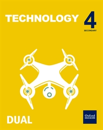 Books Frontpage Inicia Technology 4.º ESO. Student's book