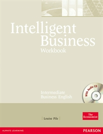 Books Frontpage Intelligent Business Intermediate Workbook and CD pack