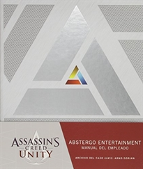 Portada del libro Assassin's Creed Unity: Abstergo entertainment