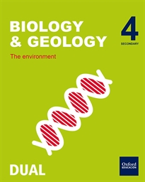 Portada del libro Inicia Biology & Geology 4.º ESO. Student's Book Volume 1.The Earth's movements