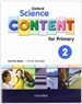Portada del libro Oxford Science Content for Primary 2. Activity Book