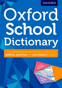 Portada del libro Oxford School Dictionary 2016