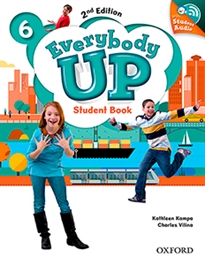 Portada del libro Everybody Up! 2nd Edition 6. Student's Book with CD Pack