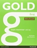 Portada del libro Gold First New Edition Maximiser with Key