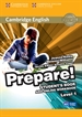 Portada del libro Cambridge English Prepare! Level 1 Student's Book and Online Workbook