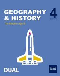 Books Frontpage Inicia Geography & History 4.º ESO. Student's Book. Volume 3