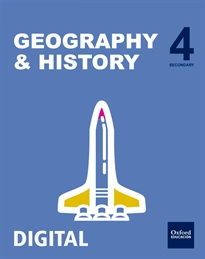 Books Frontpage Inicia Geography & History 4.º ESO. Student's book
