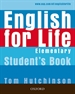 Portada del libro English for Life Elementary. Student's Book