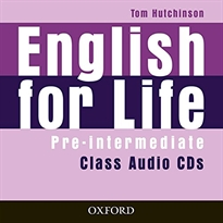 Books Frontpage English for Life Pre-Intermediate. Class Audio CD