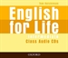 Portada del libro English for Life Intermediate. Class Audio CD (3)