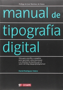 Portada del libro Manual de tipografía digital