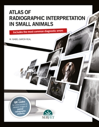 Portada del libro Atlas of radiographic interpretation in small animals