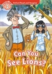 Portada del libro Oxford Read and Imagine 2. Can You See Lions MP3 Pack