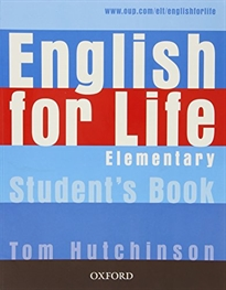 Books Frontpage English for Life Elementary. Student's Book + multi-ROM