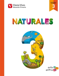 Books Frontpage Naturales 3 Madrid (aula Activa)