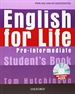 Portada del libro English for Life Pre-Intermediate. Student's Book + multi-ROM