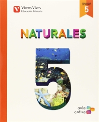 Books Frontpage Naturales 5 Madrid (aula Activa)