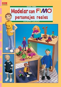 Books Frontpage Modelar con fimo personajes reales