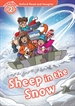 Portada del libro Oxford Read and Imagine 2. Sheep in the Snow MP3 Pack