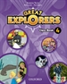 Portada del libro Great Explorers 4. Class Book Pack