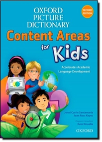 Books Frontpage Oxford Picture Dictionary. Content Areas for Kids. English Dictionary