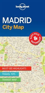 Books Frontpage Madrid City Map 1