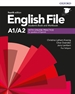 Portada del libro English File 4th Edition A1/A2. Student's Book and Workbook with Key Pack