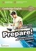 Portada del libro Cambridge English Prepare! Level 7 Student's Book and Online Workbook with Testbank
