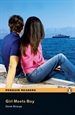 Portada del libro Penguin Readers 1: Girl Meets Boy Book & CD Pack