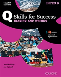 Books Frontpage Q Skills for Success (2nd Edition). Reading & Writing Introductory. Split Student's Book Pack Part B