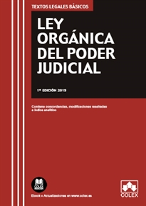 Books Frontpage Ley Orgánica del Poder Judicial