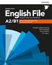 Portada del libro English File 4th Edition A2/B1. Student's Book and Workbook with Key Pack