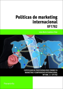 Portada del libro UF1782 - Políticas de marketing internacional
