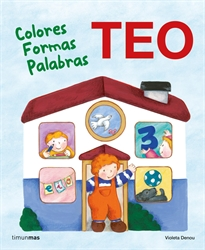 Books Frontpage Teo. Colores Formas Palabras